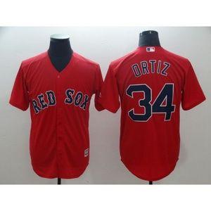 Boston Red Sox David Ortiz Jersey 2